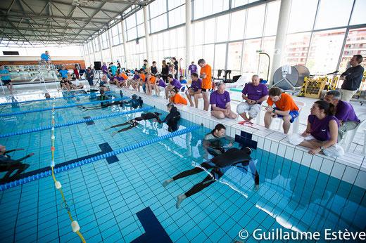 Compétition SCPL 2012 à la piscine Nemausa