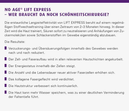 Lift Express Stoffwechseltraining für die Haut