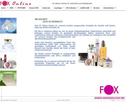 fox Kosmetik Pflegeprodukte Partner