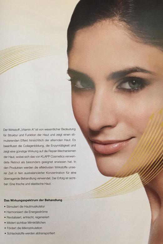 Vitamin A-Retinol-Power Kosmetikbehandlung in Magdeburg