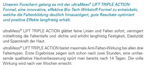 Lift triple action Kosmetikbehandlung