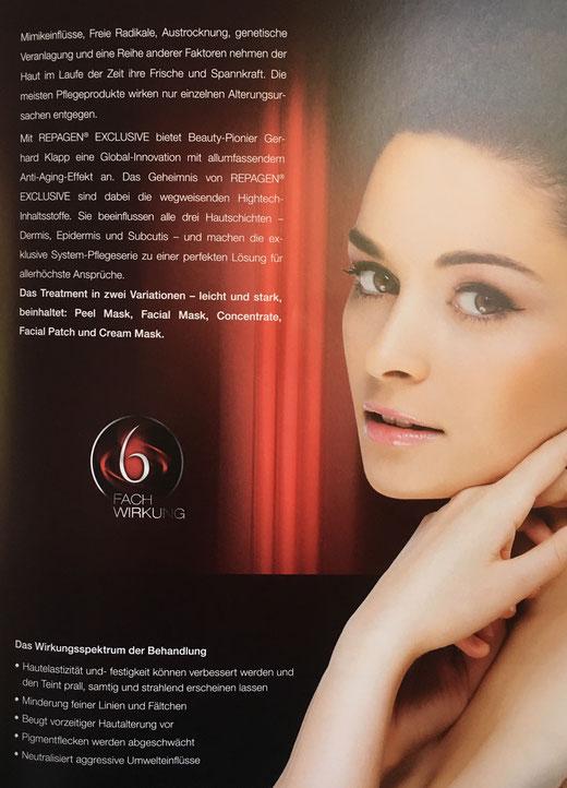 6-fach Wirkung mit Repagen Exclusive Kosmetik Produkten