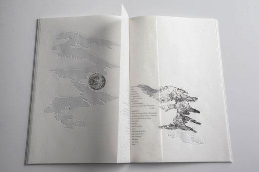 Anastasia Bessarabova, Stein og Speil /Stein und Spiegel∞Radierungen, Digitaldruck, Klischeedruck, Siebdruck 2017