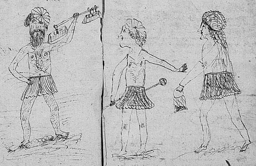 registre paroissial de Charentenay 1651 (AD 89, 5 Mi 242)