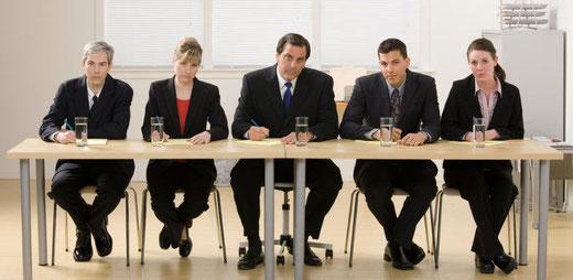 Ein Bewerbungsgespräch kann ein Stress sein. (Bild: 20 Minuten)