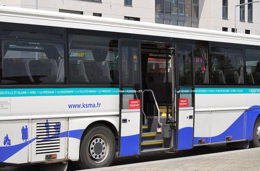Légende : Lié depuis 2006 aux lignes urbaines, le réseau Interurbain de Saint-Malo Agglomération va vivre une nouvelle étape de son intégration dès le mois prochain. ©popol