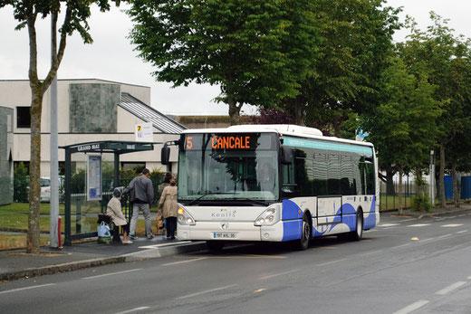 Cancale et St-Jouan toutes les 30mn; avancée incroyable que cette nouvelle ligne 5 ! - © Popol