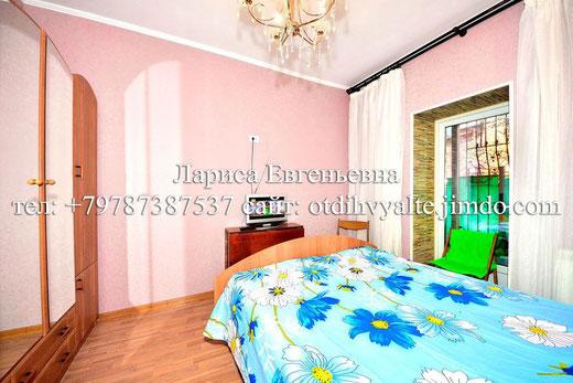 2комн. дом над Массандровским пляжем в Ялте с мангалом