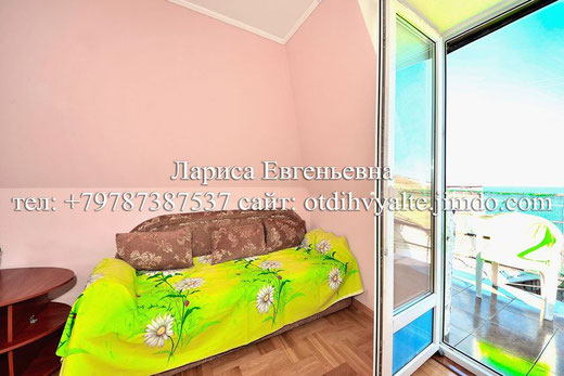 1 к. квартира над Массандровским пляжем
