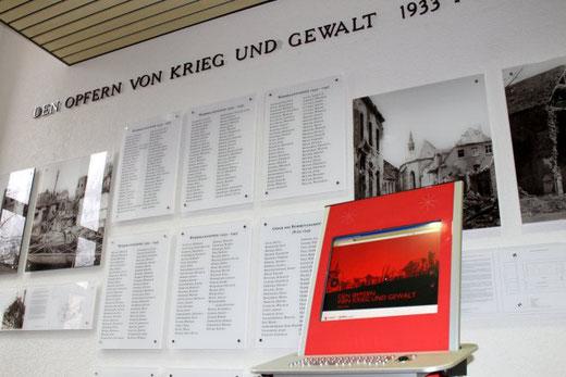 Die Erinnerungsstätte im Rathaus Attendorn.
