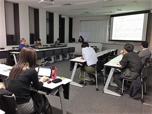 2017年11月11日研究例会  (c) 早稲田大学オペラ/音楽劇研究所