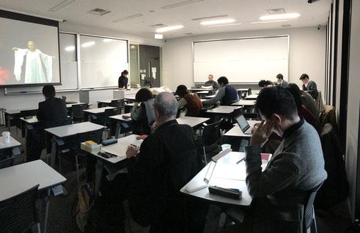 2018年2月3日研究例会 (c) 早稲田大学オペラ/音楽劇研究所
