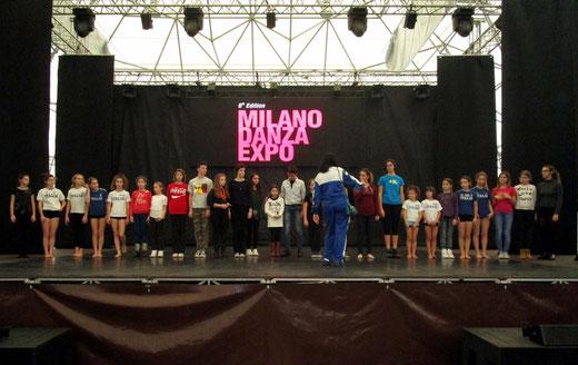 FITKID ITALIA E ANNIE JR A DANZA EXPO 2014