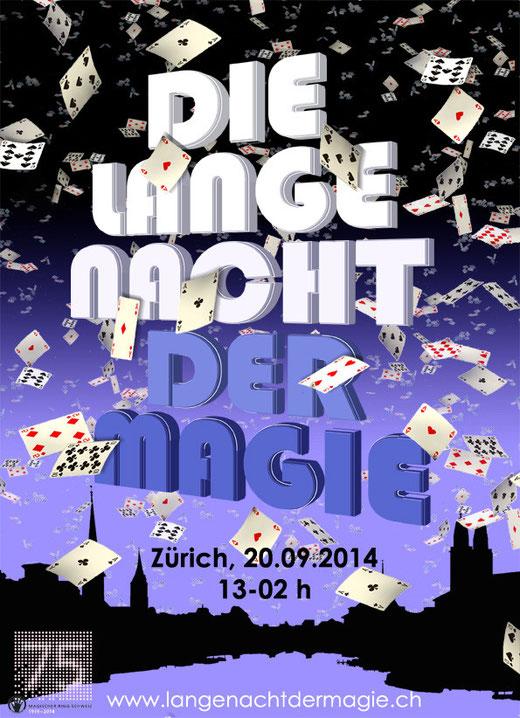 Flyer - Lange Nacht der Magie
