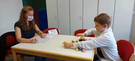 Überprüfung des Sprachstandes mit dem SET 5-10