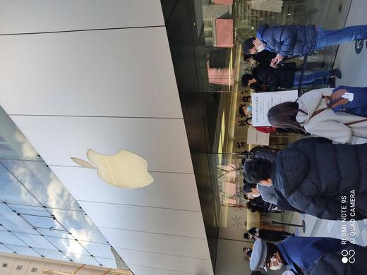 新年早々にAppleストアへMac miniを取りに行きました。