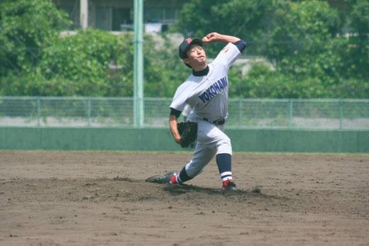 横浜高校 三枝木幸星