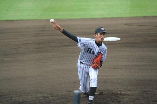 市立橘 1回からの攻撃は【横浜隼人 林俊太朗】ページへ!
