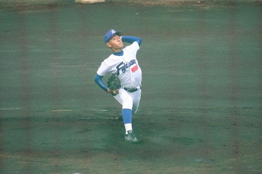 鶴嶺高校 1回からの攻撃は【藤沢西 大八木涼真】ページへ!