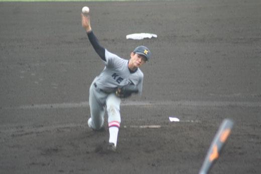 【慶應義塾 木澤尚文】秋季大会2回戦vs横浜隼人