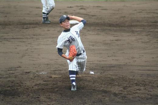 【市立橘 松本健太郎】秋季大会4回戦vs横浜隼人