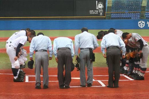 2015 明治神宮野球大会<高校の部>準々決勝 青森山田vs東邦
