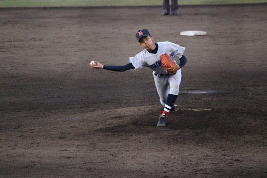 【横浜高校 黒須大誠】準々決勝vs平塚学園