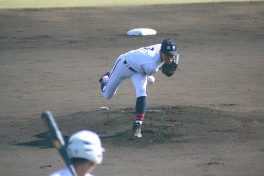 【日本航空 片岡優大②】秋季関東大会1回戦vs白鷗大足利