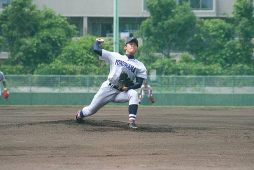 横浜高校 佐藤豪