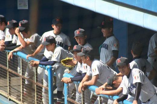 横浜高校の攻撃は写真をクリック!