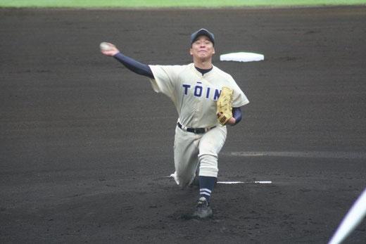 【桐蔭学園 小川隼平】秋季大会4回戦vs横浜高校