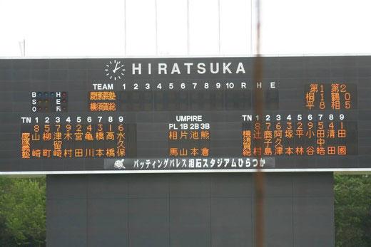 横須賀総合vs慶應義塾