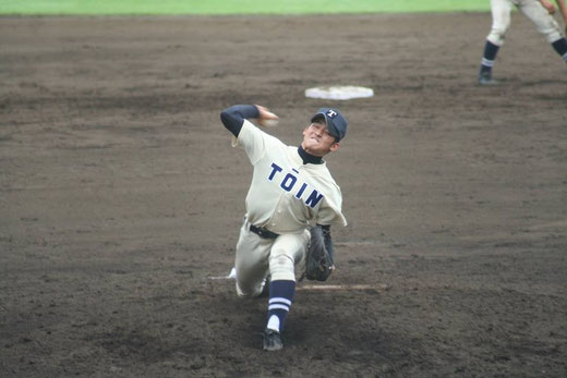 【桐蔭学園 小諸信人】秋季大会4回戦vs横浜高校