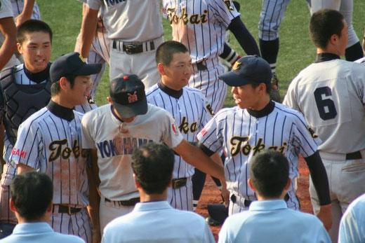 東海大相模vs横浜高校
