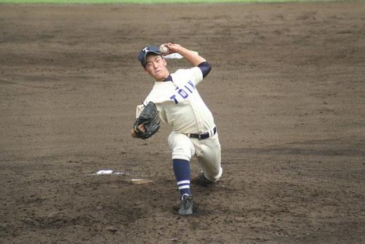 【桐蔭学園 徳永凌雅】秋季大会4回戦vs横浜高校