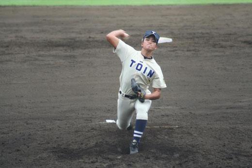 【桐蔭学園 谷繁凛】秋季大会4回戦vs横浜高校