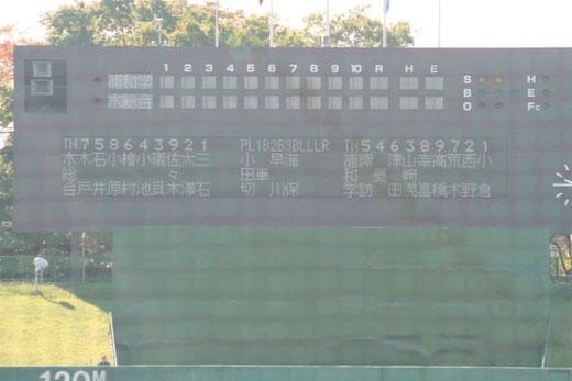 2014 高校野球秋季関東大会 決勝 浦和学院vs木更津総合