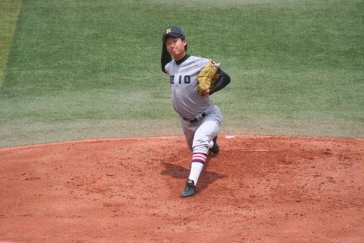 慶應義塾高校 亀井倫太朗