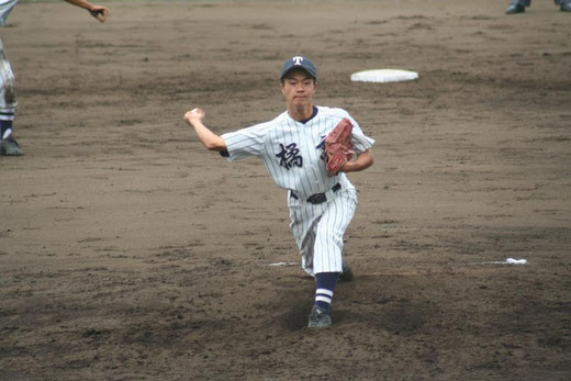 【市立橘 畑中雅史】秋季大会4回戦vs横浜隼人