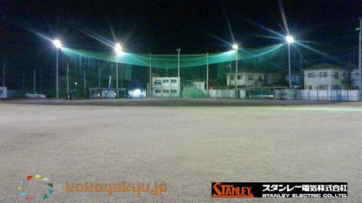野球グラウンド照明に最適なスタンレー・スポーツLED