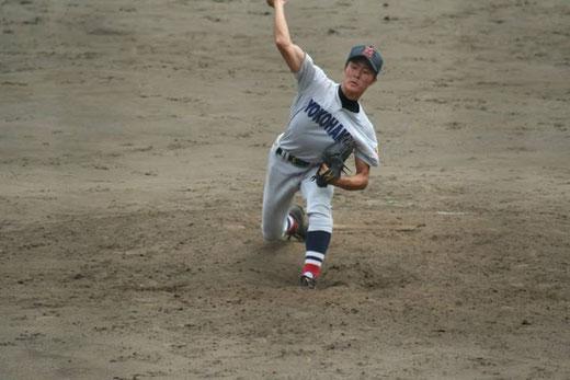 横浜高校 倉田健二