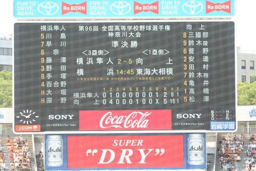 向上高校vs横浜隼人