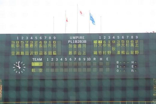 2015 高校野球 秋季関東大会<1回戦>白鷗大足利vs日本航空@市営大宮球場