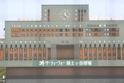 2015 神奈川県春季大会準々決勝 東海大相模vs慶應義塾