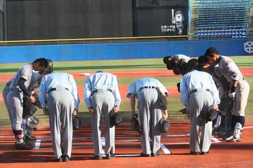 2015 明治神宮野球大会<高校の部>準決勝 敦賀気比vs青森山田