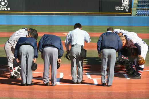 明治神宮野球大会<決勝>浦和学院vs仙台育英