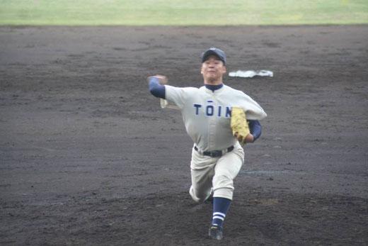 引き続き横浜隼人の攻撃は、写真をクリック!