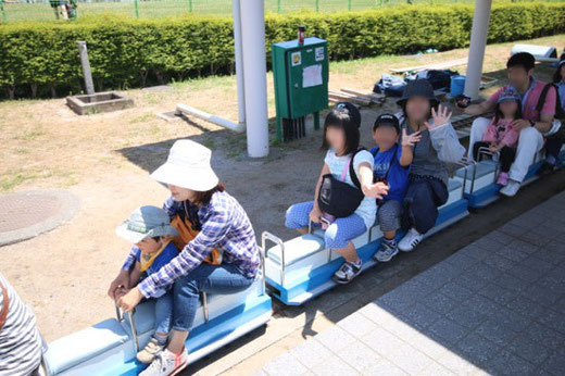 ミニ新幹線 出発進行