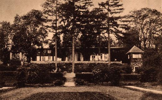 Schweizerhaus Seelow 1930