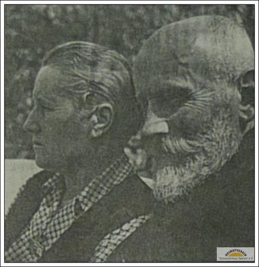 Alfred Kutta mit Ehefrau Emma 1938